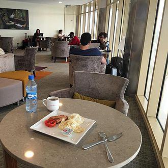 Jomo Kenyatta International Airport - Pride lounge Terminal 1A JKIA