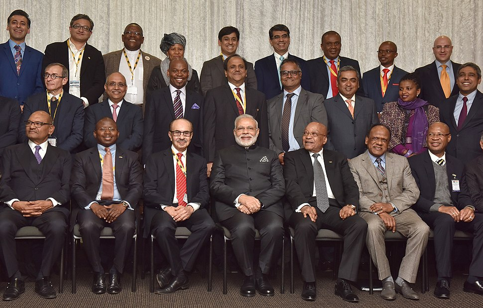 Prime Minister Narendra Modi at India-South Africa Business Summit