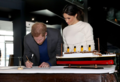 Prince Harry and Ms. Markle visit Titanic Belfast (40973159241).png