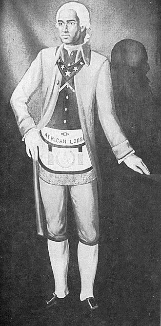 Prince Hall - An artistic illustration of Prince Hall