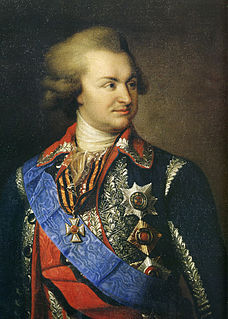 Russian military leader and statesman