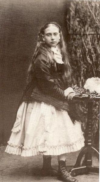 Princess Beatrice of the United Kingdom - Princess Beatrice in 1868. Her late childhood brought little companionship since Prince Leopold, the sibling closest to her age, could not play because of his haemophilia.