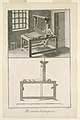 """Print, Plate IV of """"Travail et emploi du Coton"""" from Diderot's Encyclopia, Vol. I, 1762 (CH 18451551-2).jpg"""