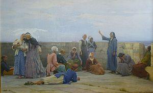 Max Leenhardt - Image: Prisonnières huguenotes à la Tour de Constance