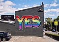 Pro-marriage equality wall in Redfern, New South Wales.jpg