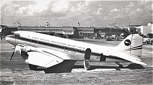 Provincetown-Boston Airlines - Provinceton-Boston Airline Douglas DC-3 at Miami International in 1971