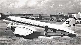 Provincetown-Boston Airlines - Provinceton-Boston Airline Douglas DC-3 at Miami International in 1971