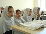Provincial Reconstruction Team Panjshir, Afghan leaders celebrate girls' school opening DVIDS183080.jpg