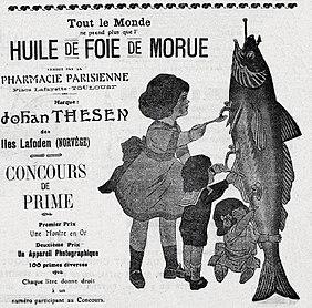 """Résultat de recherche d'images pour """"huile  de foie de moreau photos anciennes"""""""