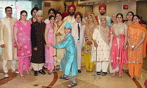 Punjabi culture - Punjabi people at a wedding