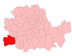 Putney (UK Parliament constituency) - Putney in London 1918–49