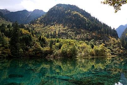 Q30023310 Jiuzhaigou National Natural Reserve Wuhuahai Oct.2015.jpg