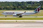 Qatar Airways Cargo, A7-AFJ, Airbus A330-243F (28461557285).jpg
