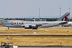 Qatar Cargo, A7-BGA, Boeing 747-87UF (29447151507).jpg