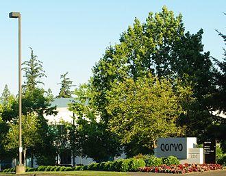 Qorvo - Qorvo's location in Hillsboro, Oregon, formerly the headquarters of TriQuint Semiconductor