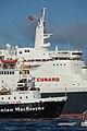 Queen Elizabeth 2 - IMO 6725418, Caledonian MacBrayne Saturn - IMO 7615490 (2919806828).jpg