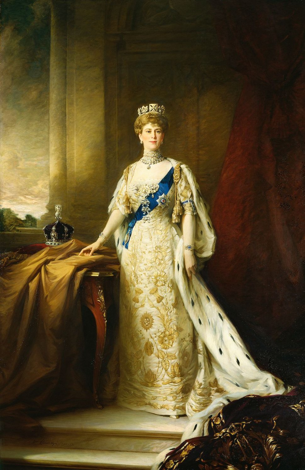 Queen Mary by William Llewellyn