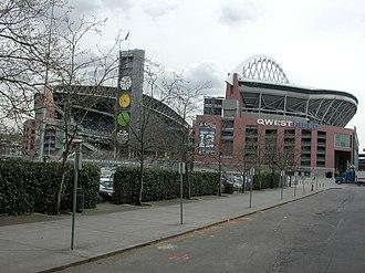 2008 Seattle Seahawks season - Qwest Field in September 2008