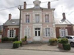 Quierzy (Aisne) mairie-école.JPG