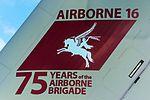 "RAF Airbus A400M Atlas (ZM409) with ""Airborne 16"" tail art at RAF Brize Norton (1).jpg"