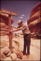RANGER AT WORK IN THE NEEDLES AREA OF CANYONLANDS NATIONAL PARK - NARA - 545591.tif