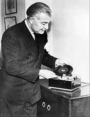 RCA 45 rpm phonograph and record Arthur Fiedler 1949