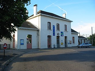 Gare de Massy – Palaiseau - Image: RER C Massy P4