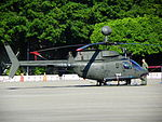 ROCA OH-58D 624 Display at Military Police School Guishan Campus Ground 20120908b.jpg