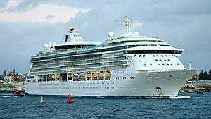MS Radiance of the Seas - Radiance of the Seas in Fremantle Harbour Australia.