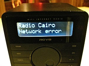 Domestic responses to the Egyptian revolution of 2011 - Radio Cairo DNS error.