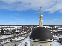 Radonezh view from the bell tower of Church of the Transfiguration (Radonezh).jpg