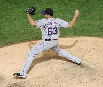 Rafael Betancourt - Betancourt with the Colorado Rockies