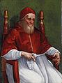 Raffaello Sanzio e bottega - Ritratto di Papa Giulio II (Städel, Frankfurt).jpg