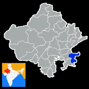 Baran district - Image: Rajastan Baran district