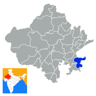 Baran district District in Rajasthan, India