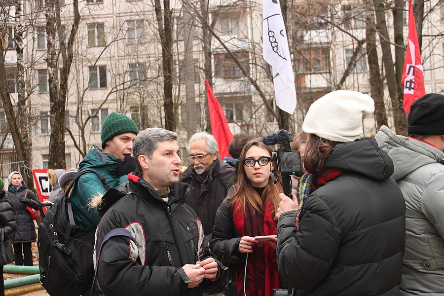 Rally for the termination of construction and restoration of the square (2018;11;17) 47.jpg