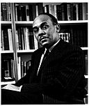 Ralph Ellison photo portrait seated
