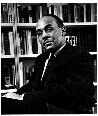 John Hersey - Writer Ralph Ellison, longtime friend of John Hersey, with whom he shared a compound in Key West
