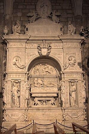 Ramón de Cardona - Tomb of Ramon de Cardona, by Giovanni da Nola.