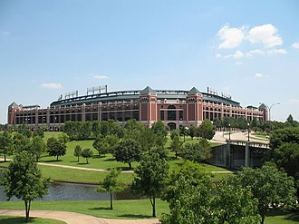 Texas Rangers (baseball) - Globe Life Park  opened in 1994.