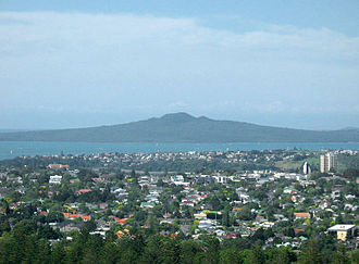 Rangitoto Island - Rangitoto Island as seen from One Tree Hill