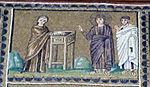 Ravenna, sant'apollinare nuovo, int., storie cristologiche, epoca di teodorico 10,1.jpg