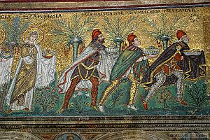 Basilica of Sant'Apollinare Nuovo in Ravenna, ...