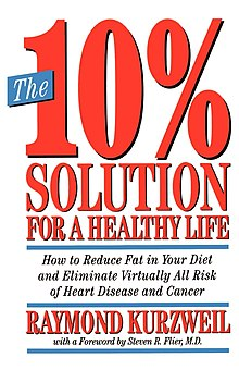 Raymond Kurzweil - The 10% Solution for a Healthy Life How to Reduce Fat in Your Diet and Eliminate Virtually All Risk of Heart Disease and Cancer.jpeg