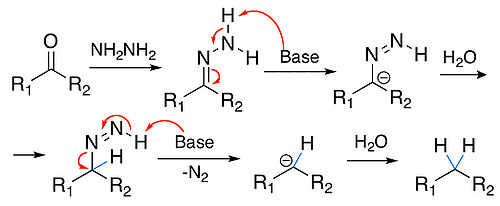 Reaction mechanism of Wolff-Kishner reduction.jpg
