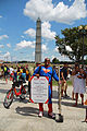 Real fathers are super men - Marcher in Superman costume - 50th Anniversary of the March on Washington for Jobs and Freedom.jpg