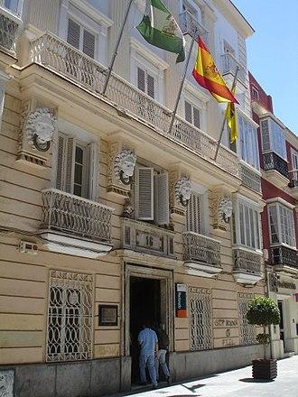 University of Cádiz - Casa de los 5 Gremios, today the University Main Building