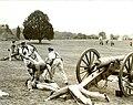 Reenactment of Henry Hill, Manassas National Battlefield Park, 1961. (fe457e6eeb004c32ae624cc9520b33fc).jpg