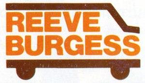 Reeve Burgess - Image: Reeve Burgess Logo 1980s