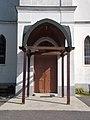 Református templom, bejárat, 2019 Veresegyház.jpg
